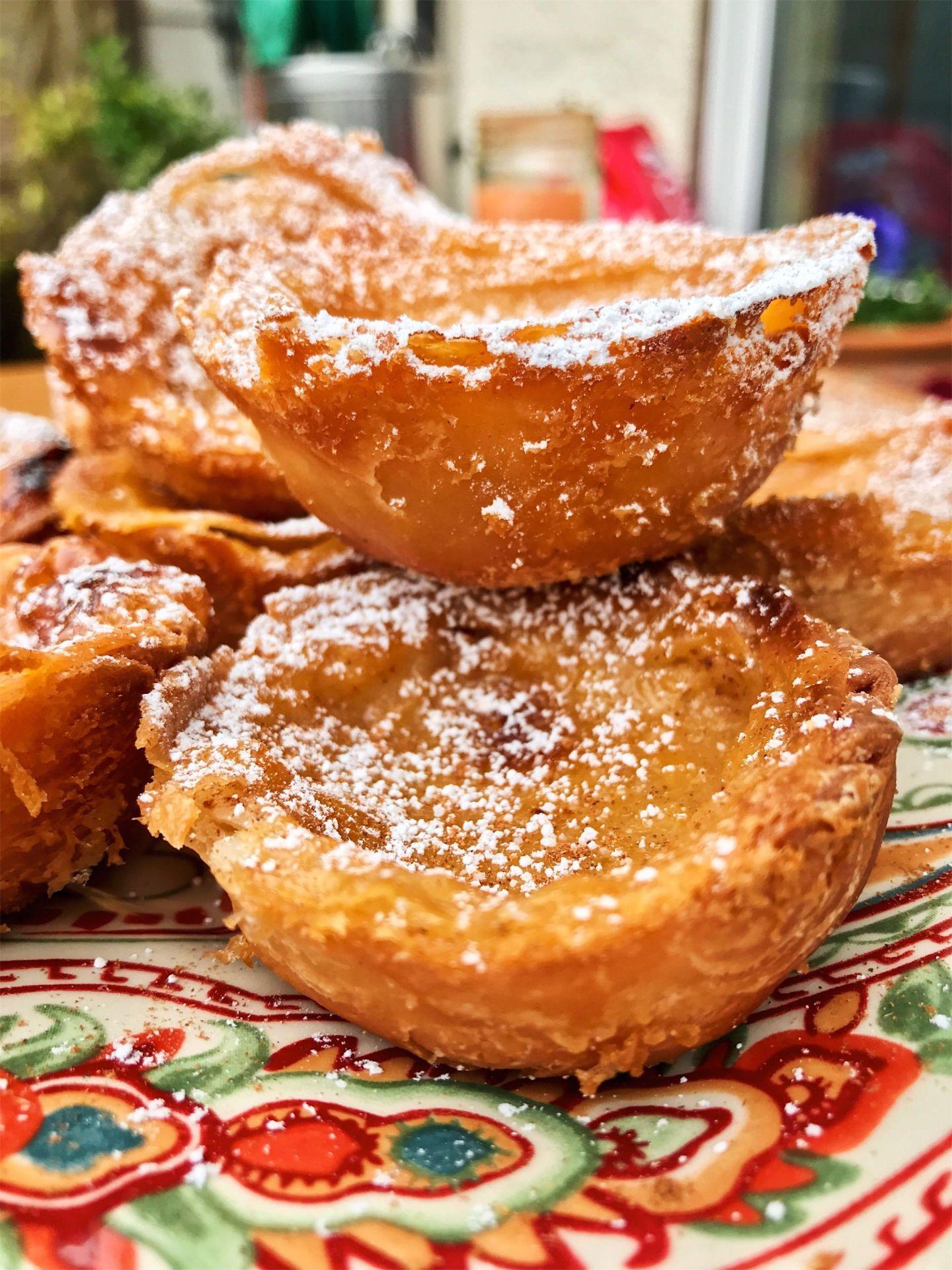 Vegan Portugese Custard Tarts
