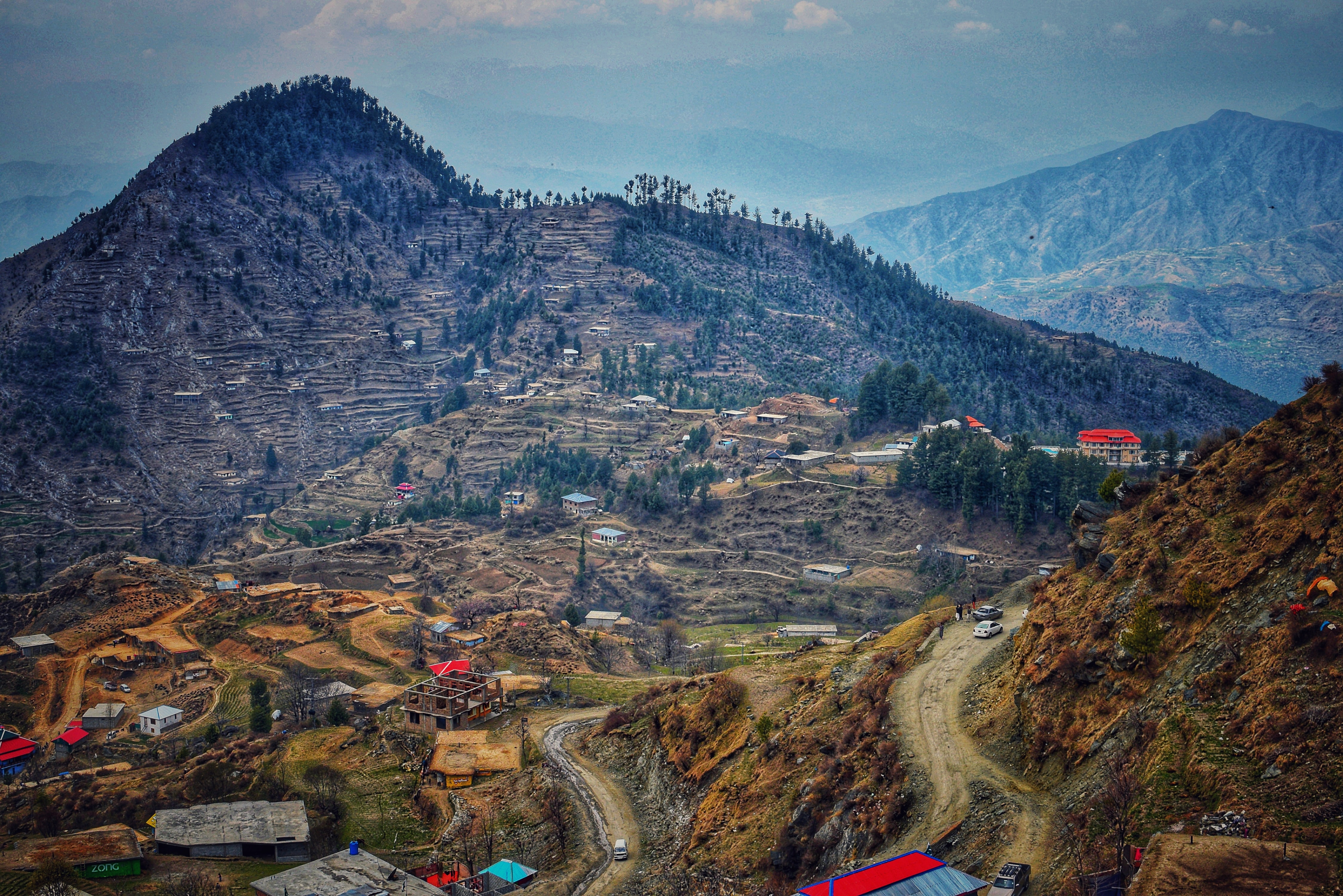 Pakistan Mountain Village
