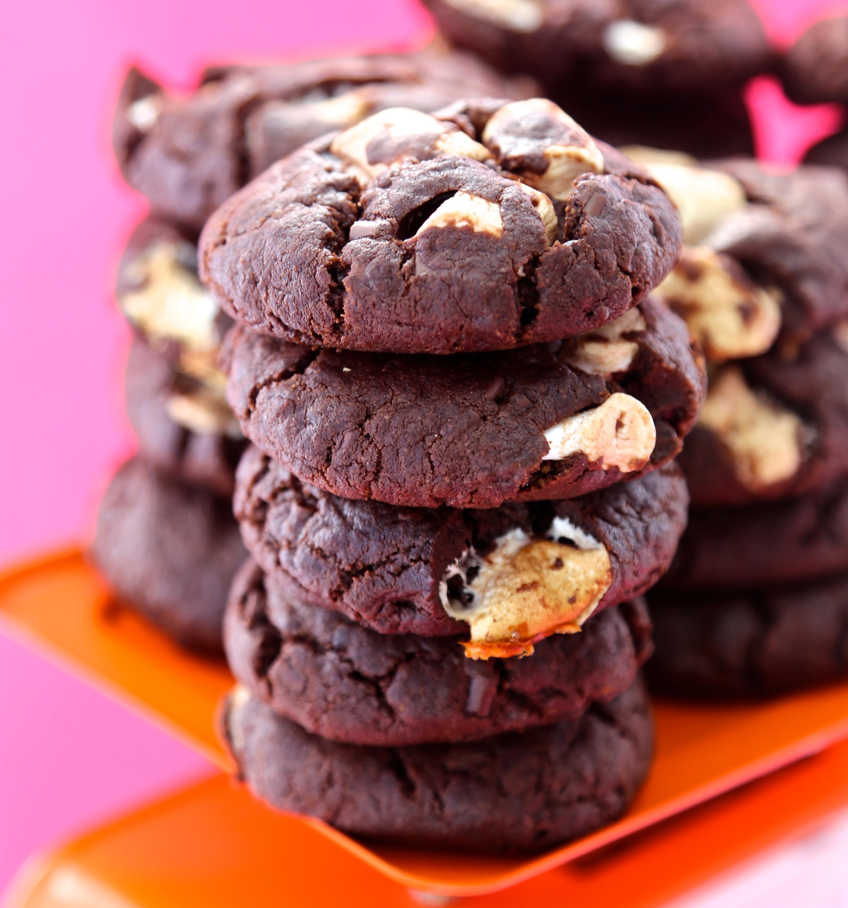 Vegan Monster Mello Cookies