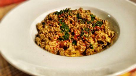 Vegan Cheesy Broccoli Pasta