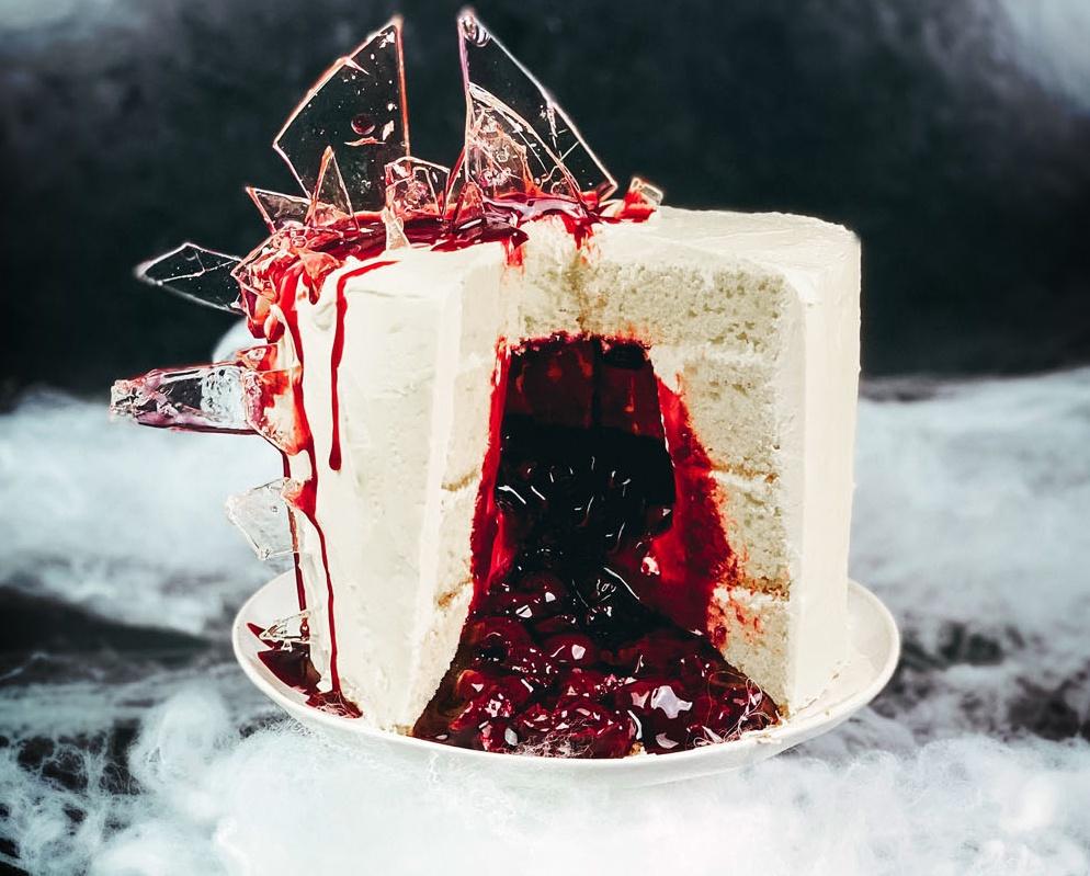 Shattered Glass Cake