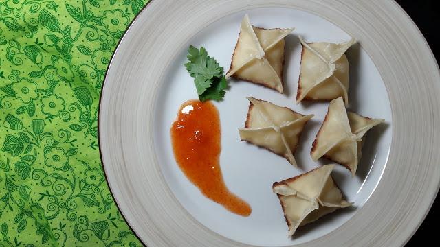 Vegan Tofu Rangoon