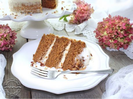 carrot cake layer cake vegan