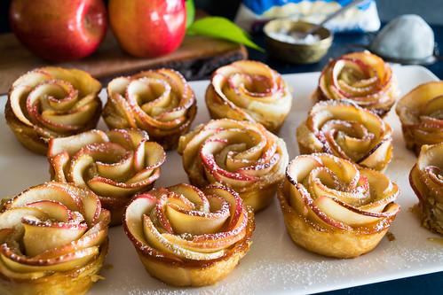 Vegan Apple Roses