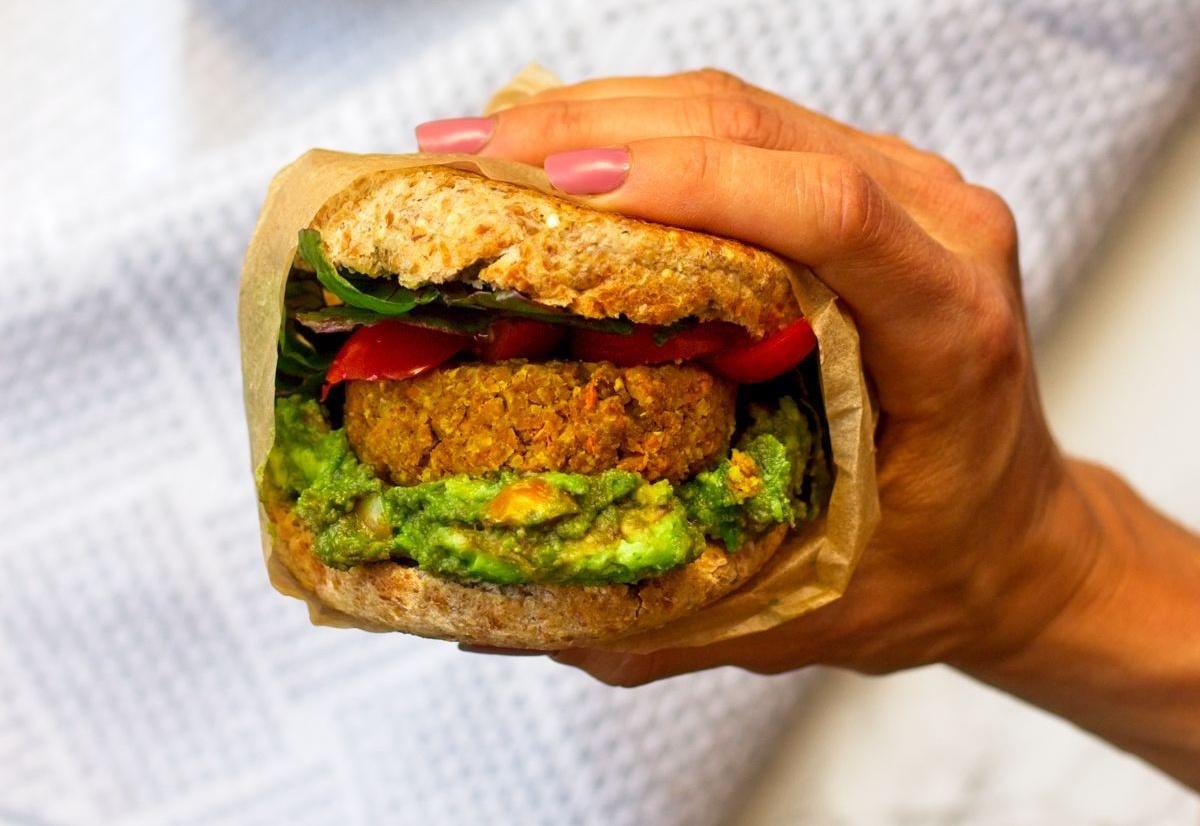 Vegan Loaded Breakfast Sandwich