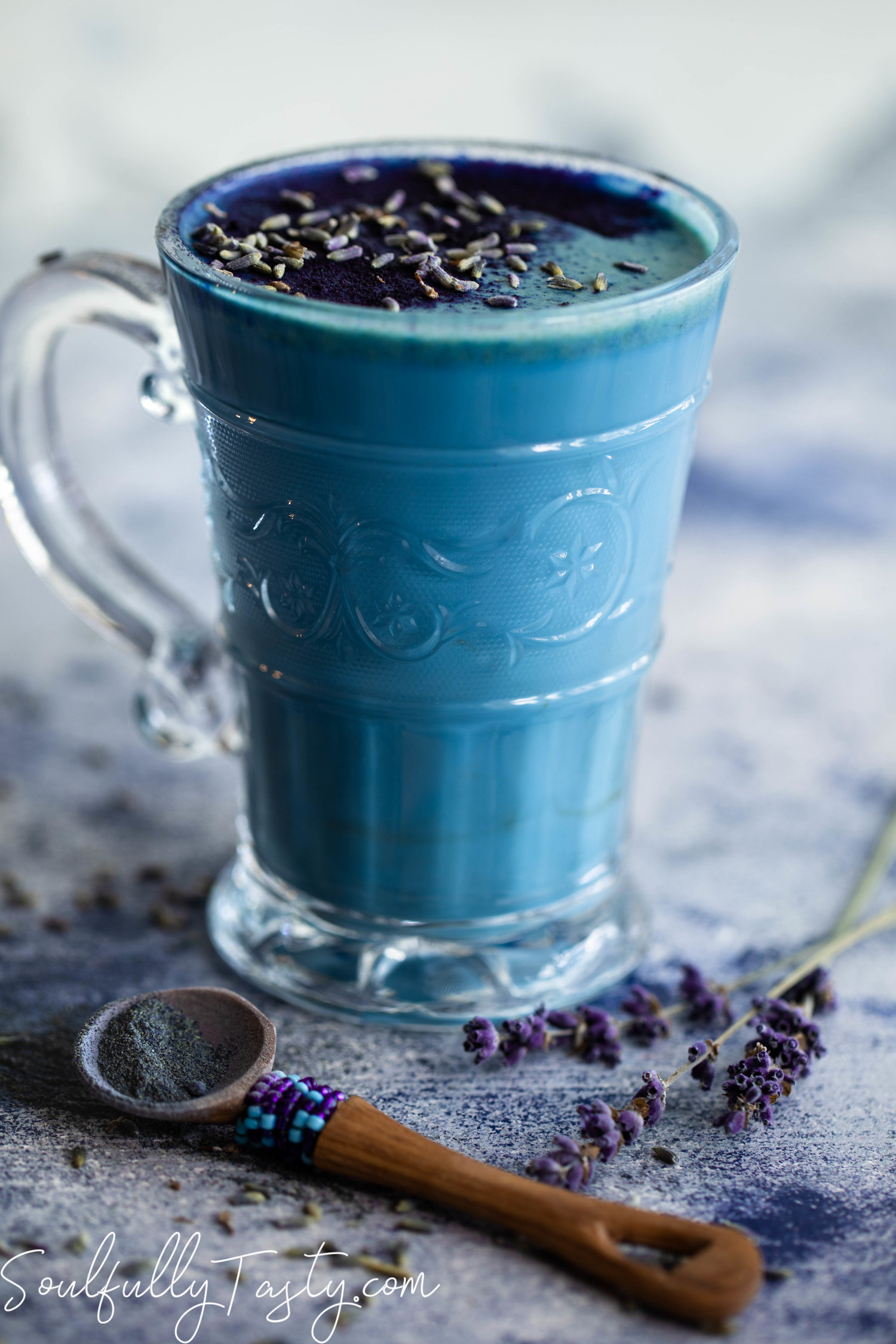 blue moon latte
