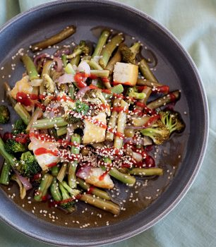 Vegan Green Bean Stir Fry