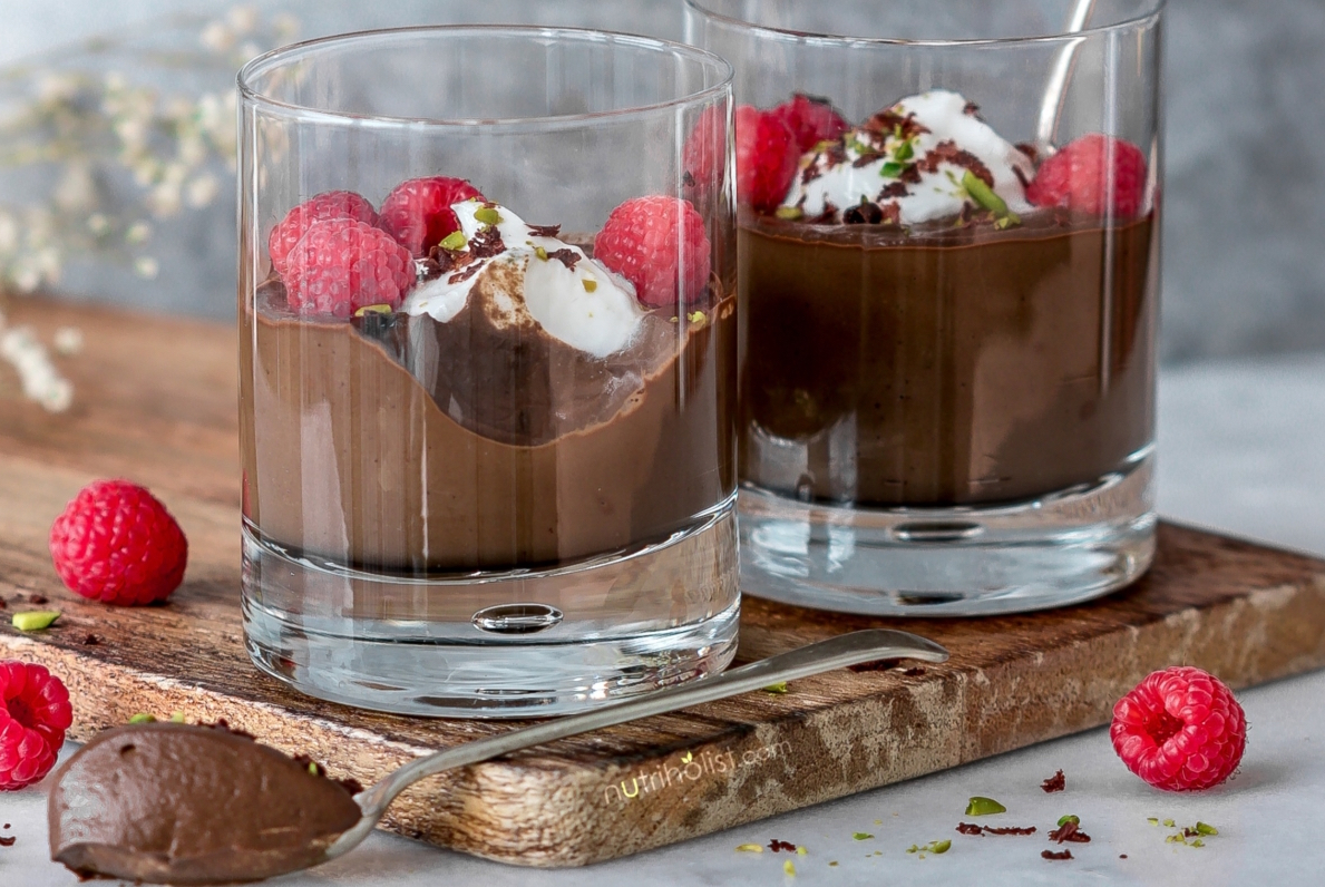 CHOCOLATE CAULIFLOWER MOUSSE