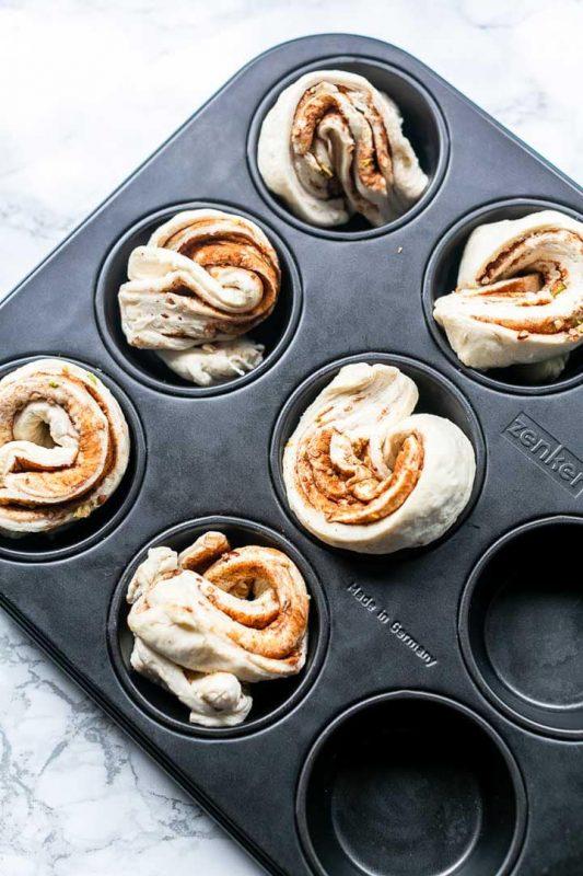 Vegan Cruffins: Croissant Muffins
