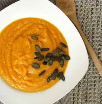 Vegan Kuri Squash Soup