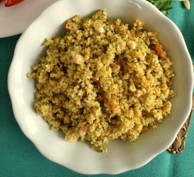 vegan broccoli couscous