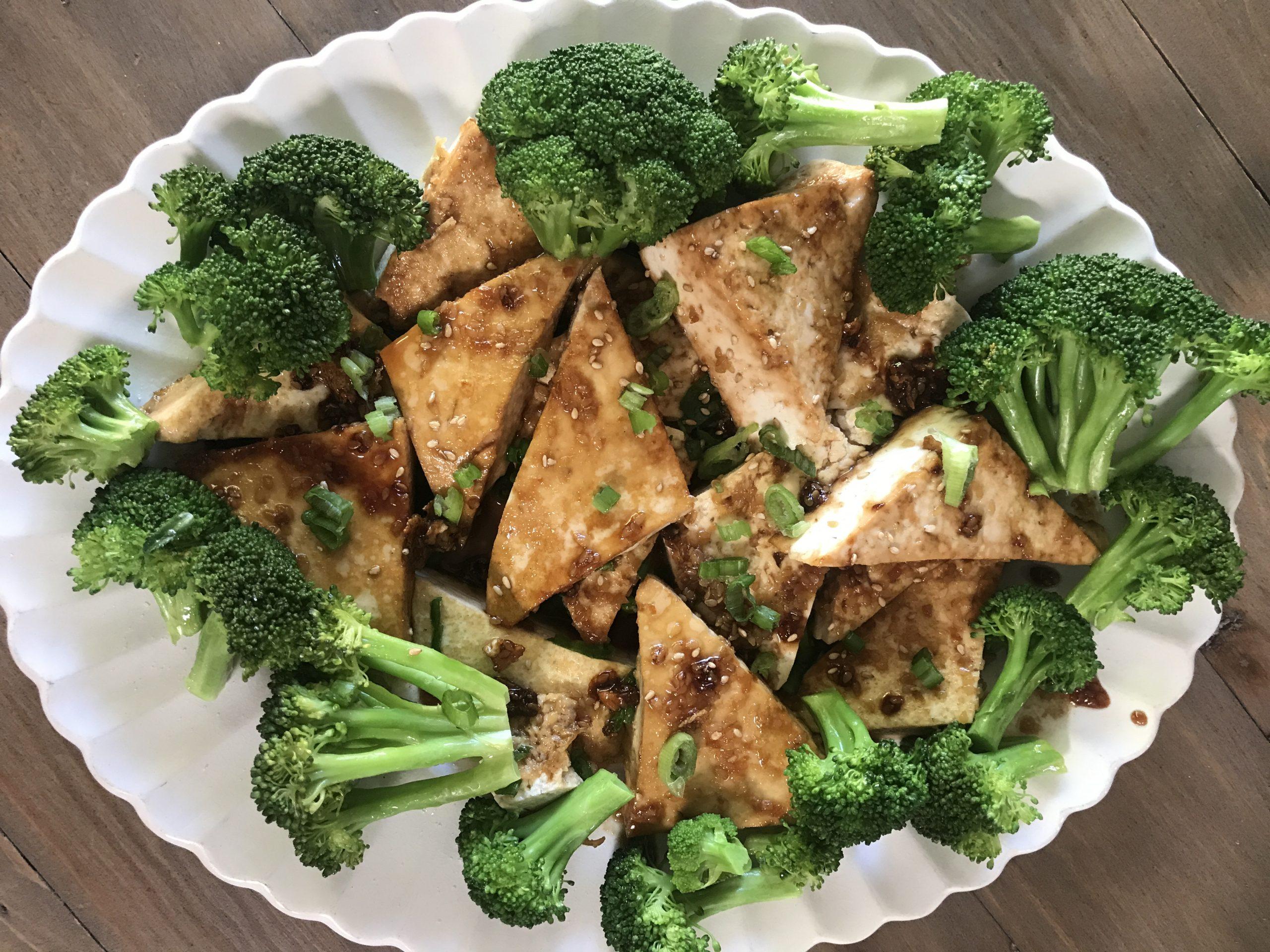 Vegan Teriyaki Tofu Steaks