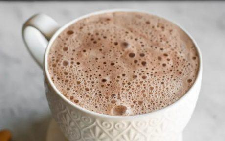 Blender Mocha Cashew Latte