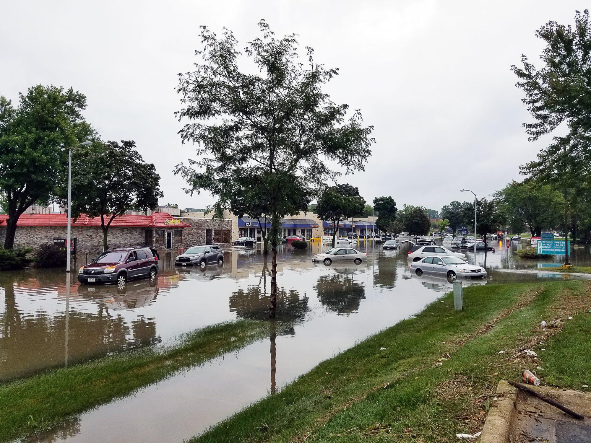 Flooding in Neighborhood