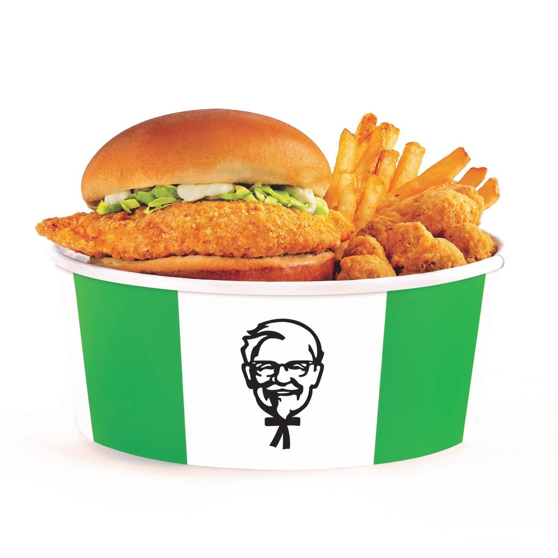 KFC vegan chicken