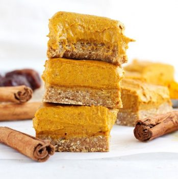 Vegan Pumpkin Turmeric Fudge