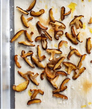 Vegan Mushroom Crispies
