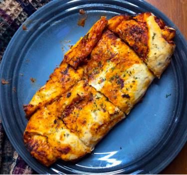 Vegan Cheesy Stromboli