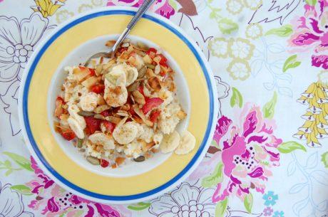Couscous Breakfast Bowl