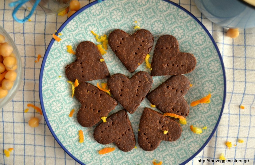 sweet chickpea crackers