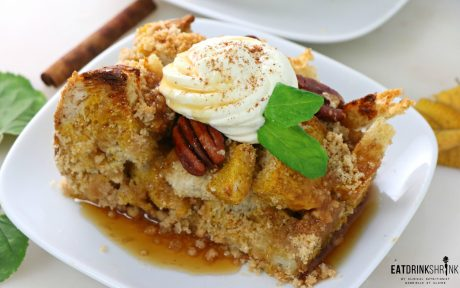 VEGAN PUMPKIN FRENCH TOAST BAKE