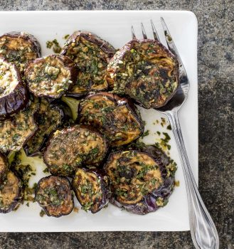 Vegan Marinated Eggplant