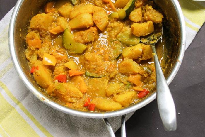 pumpkin curry vegan