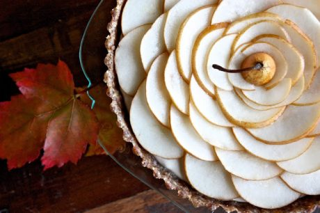 Vegan Pear Tart