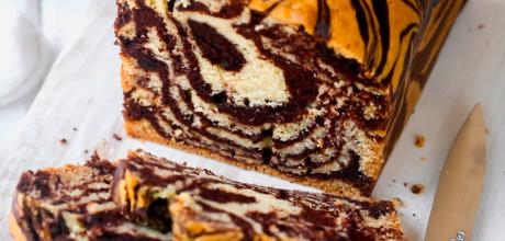 Vegan Chocolate Marble Cake