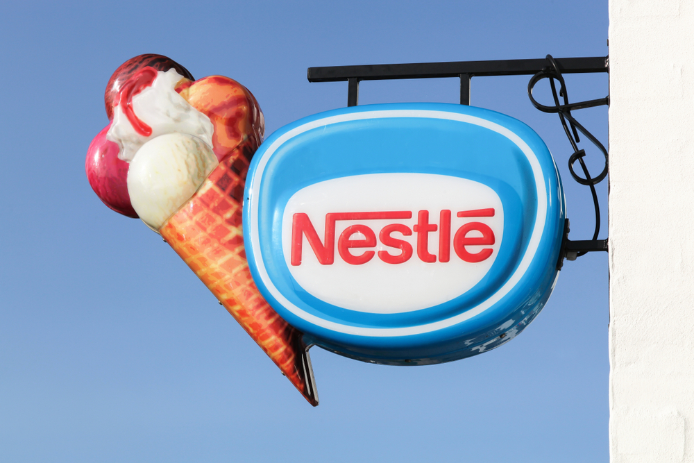 Nestle Ice Cream sign