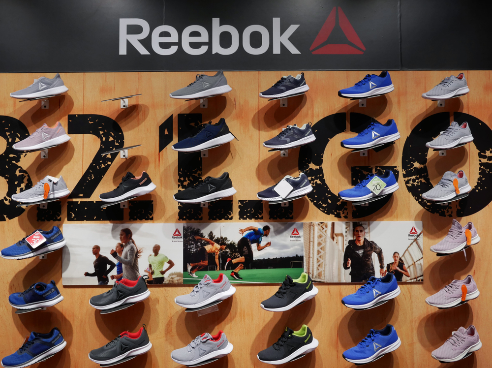 Reebok Wall of Shoes