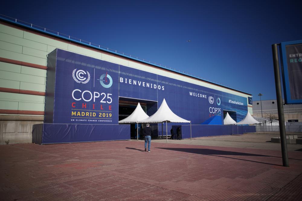 COP25 welcome tent