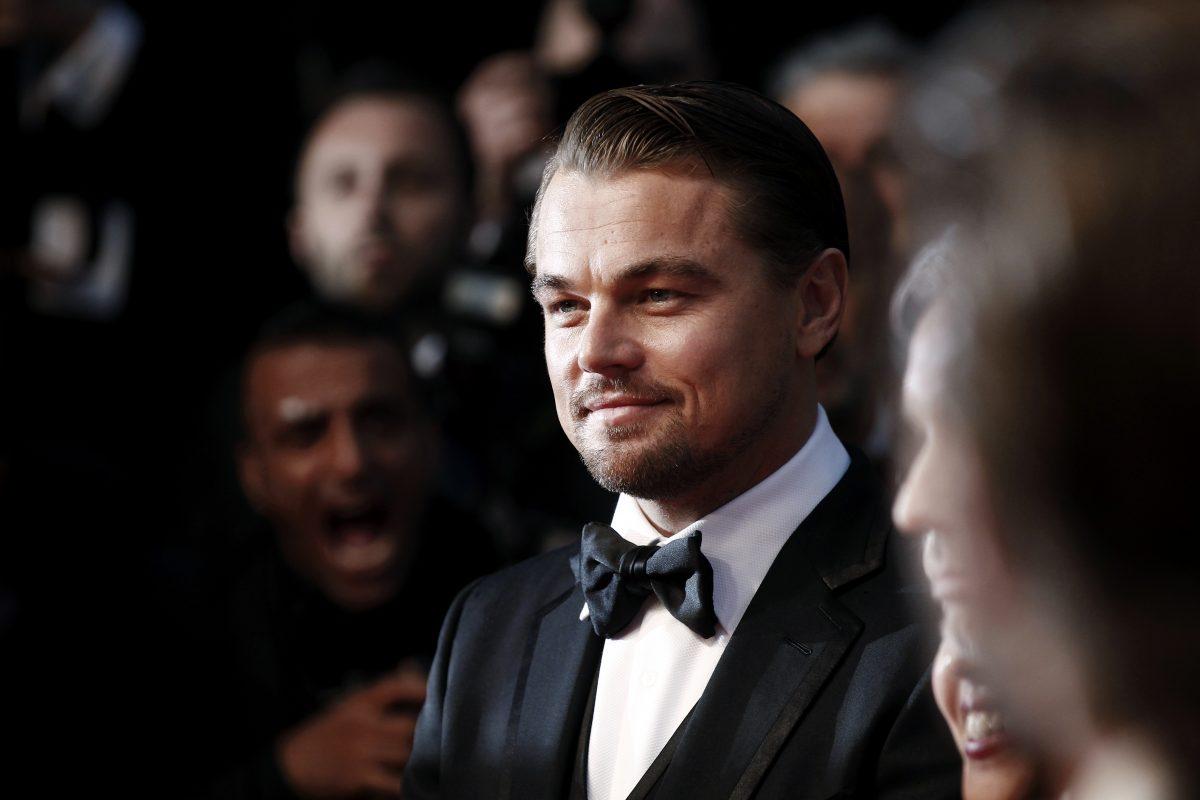 Leonardo DiCaprio at Cannes
