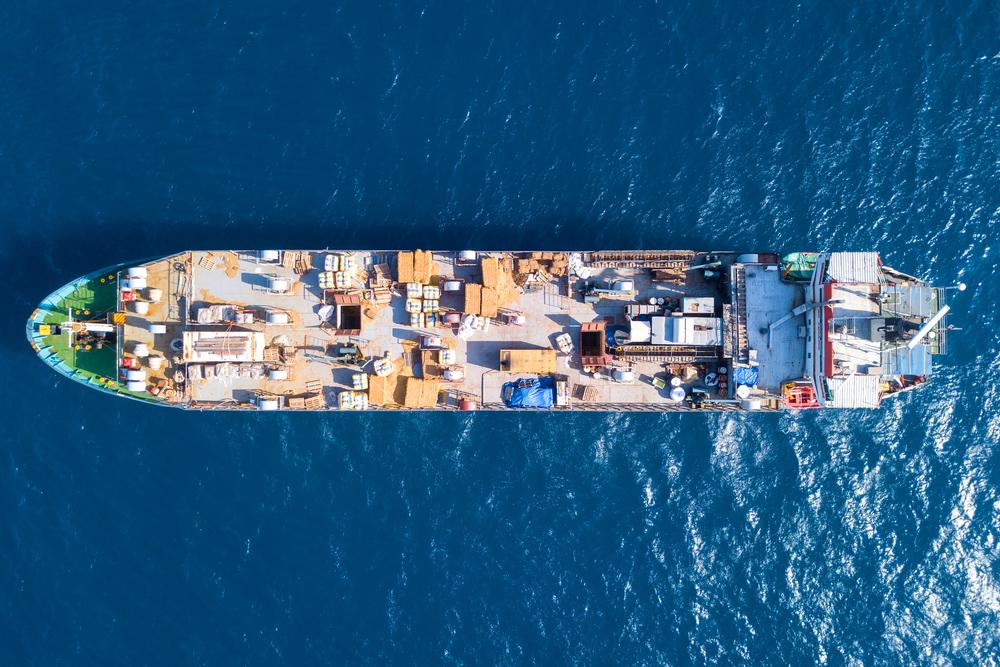 live animal cargo vessel