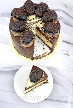 vegan Almond Joy Cake