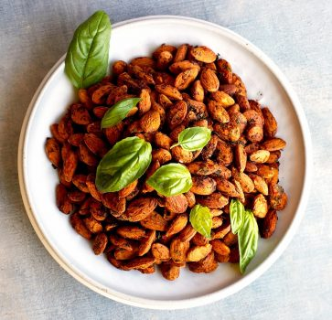 Almonds Tomato Basil vegan