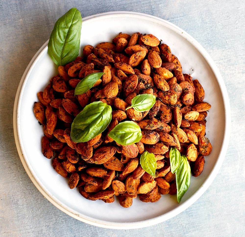 Almonds Tomato Basil vegan