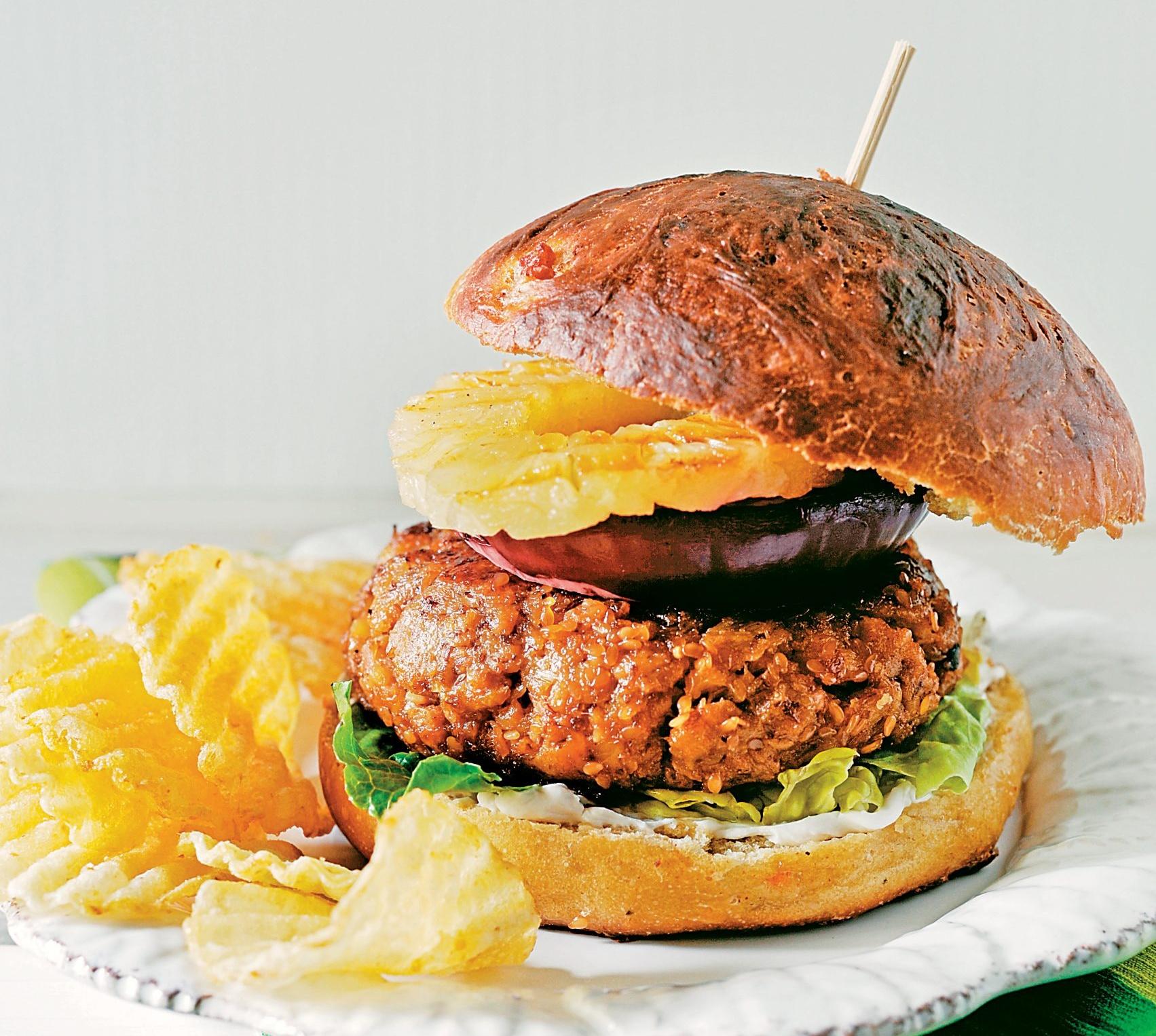 Aloha Burger vegan
