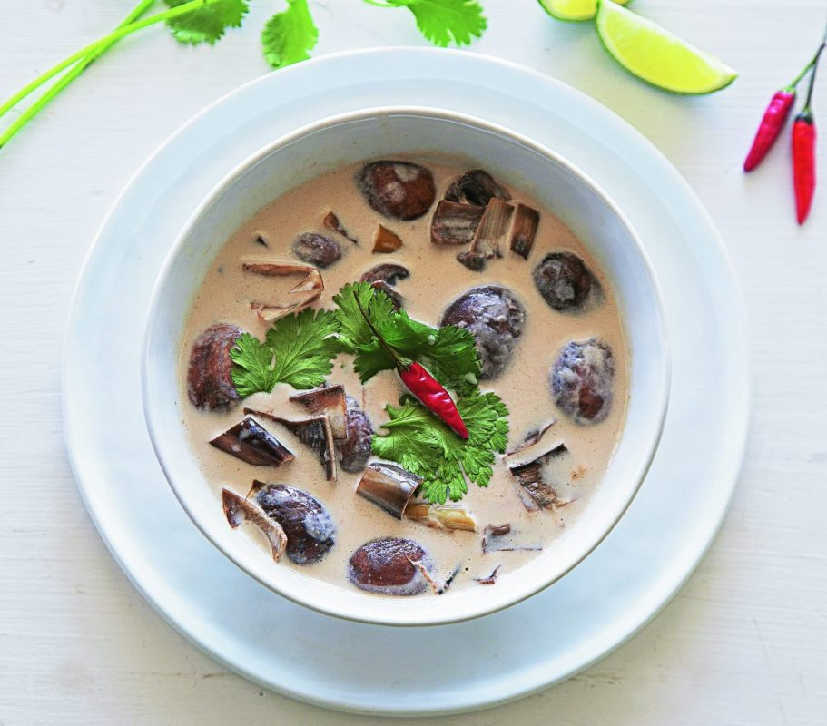 BANANA BLOSSOM TOM KHA SOUP