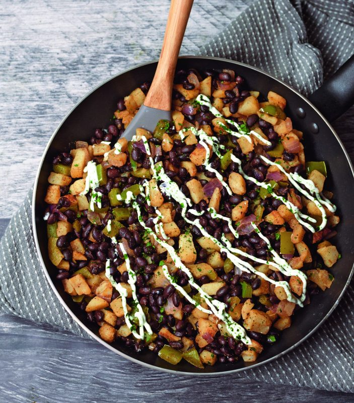 Crispy Breakfast Hash vegan