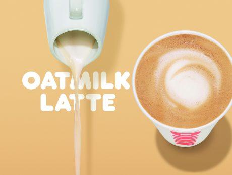 Dunkin oatmilk latte