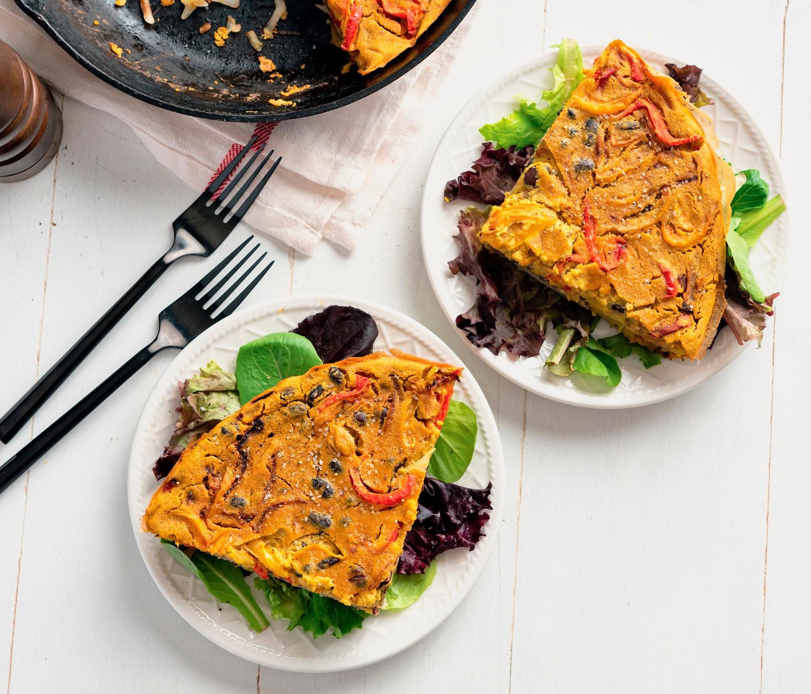 Vegan Hash Brown Frittata