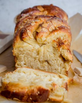 vegan white chocolate babka