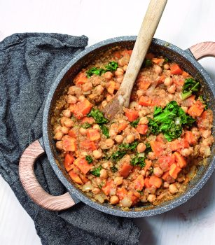 Vegan Indian-Spiced Sweet Potato Stew
