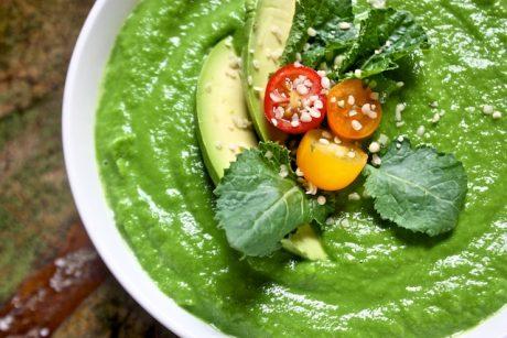 Vegan Emerald Kale Detox Soup