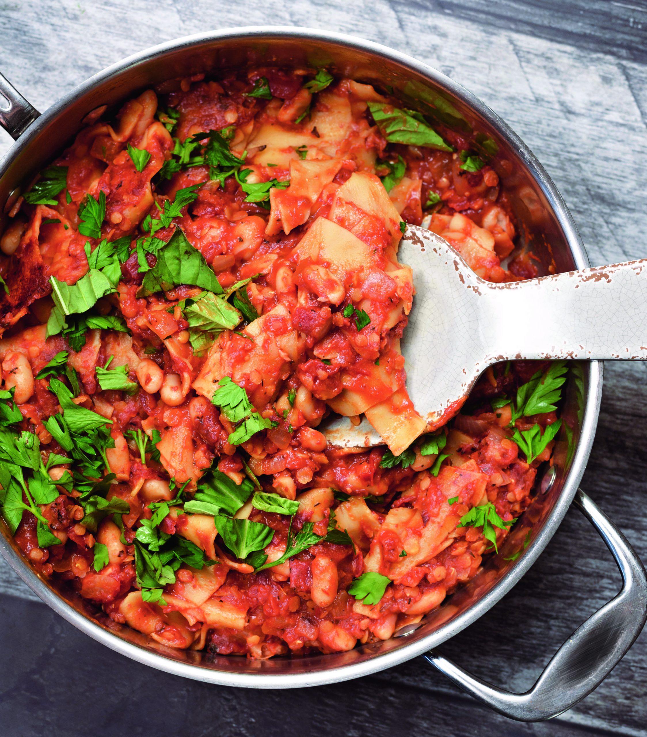 Vegan Lasagna Skillet