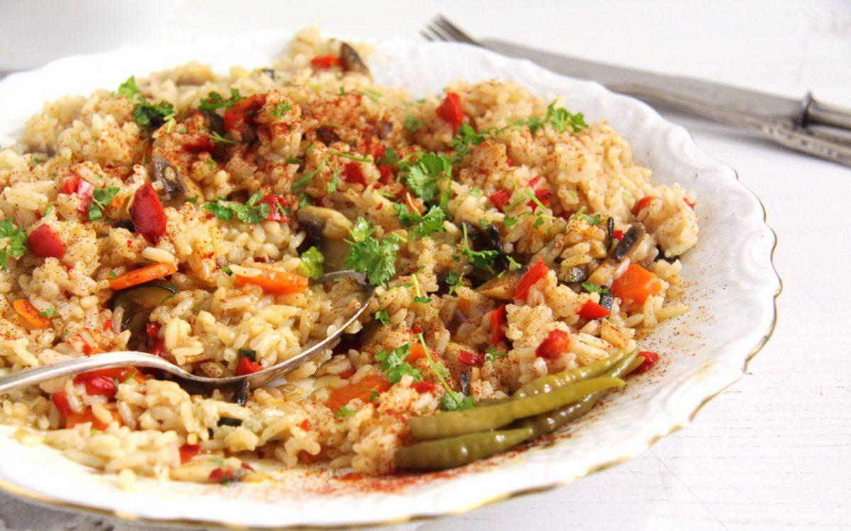 Quick and easy vegan pilaf recipes