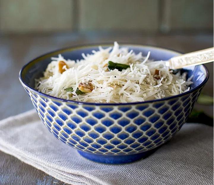 Vegan Indian Style Coconut Rice Noodles
