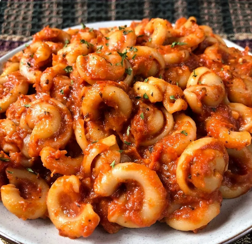 Vegan Tomato Pasta easy vegan recipes