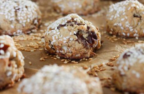 vegan Tahini Medjool Date Cookies